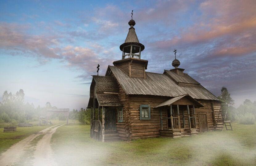 Деревянная церковь — National Geographic Россия