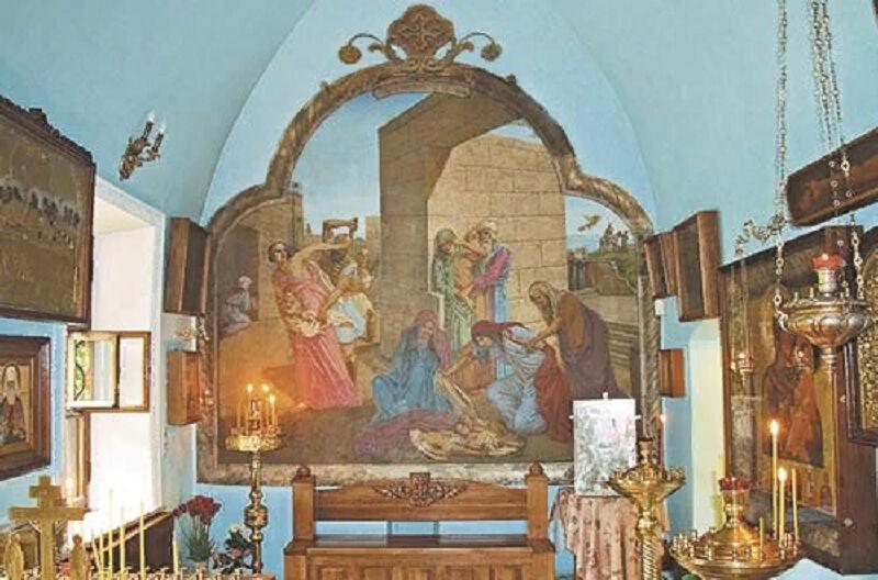 храм ризоположения в леонове