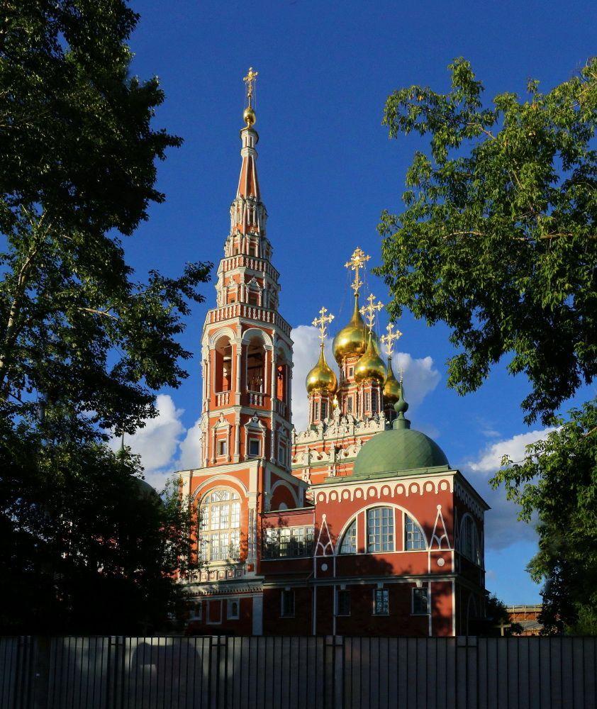 церковь вознесения в кадашах
