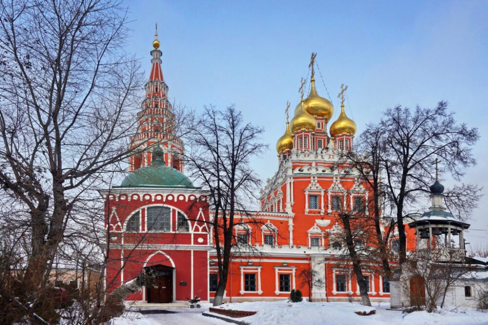 церковь в кадашах в москве
