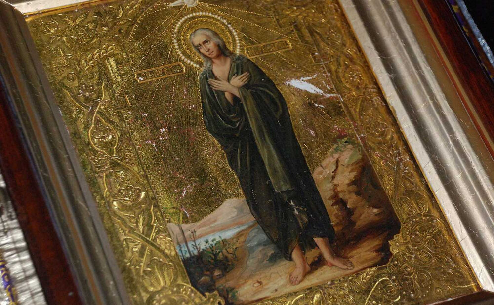 Стояние Марии Египетской — Иверский монастырь