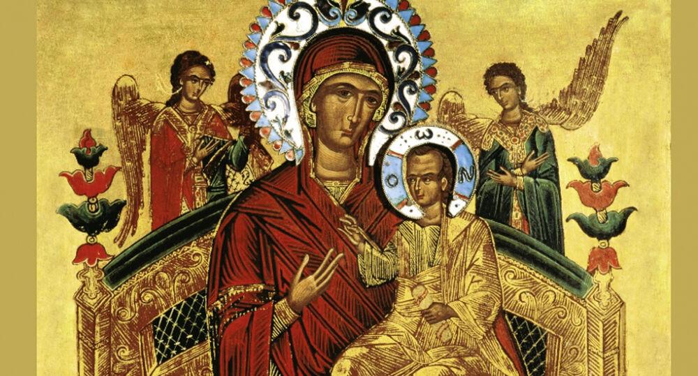 Церковь чтит икону Божией Матери «Всецарица» - Православный журнал ...