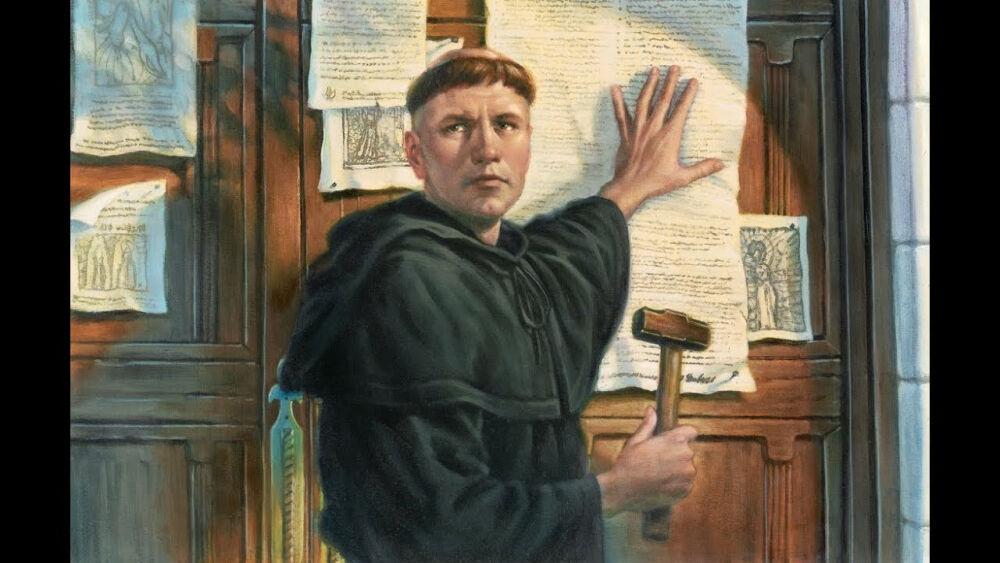 Великий реформатор - Мартин Лютер - YouTube