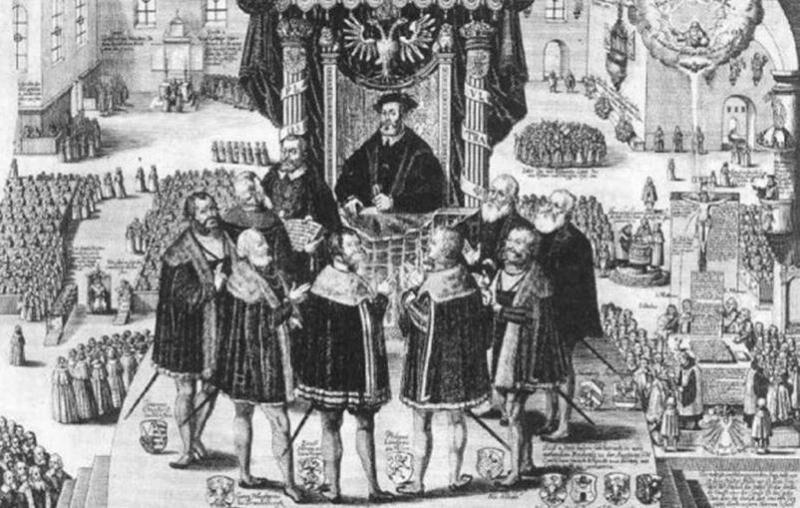 Аугсбургский религиозный мир | Тайны веков