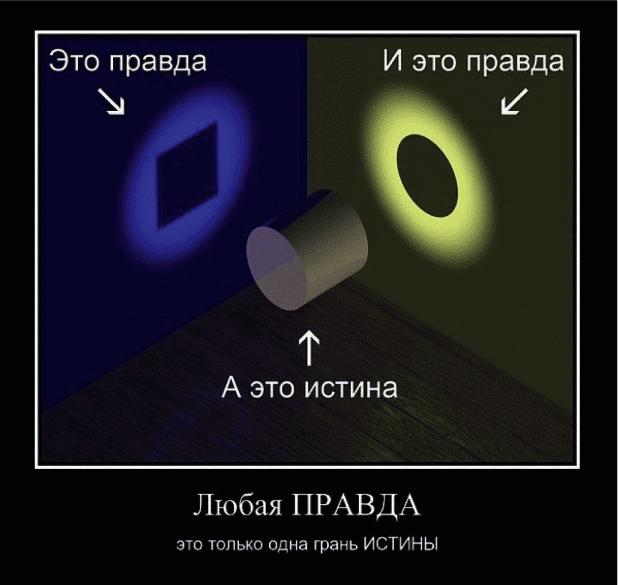 Ответы@Mail.Ru: Чем истина отличается от правды?