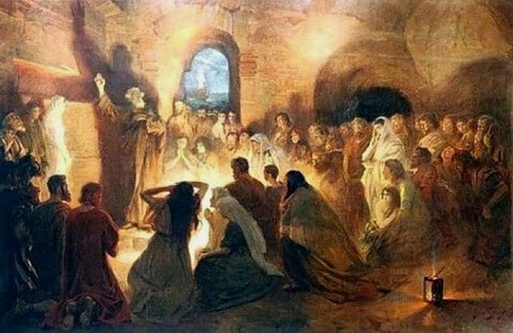 История религий: Жизнь христиан до начала IV века   www.newmartyros.ru