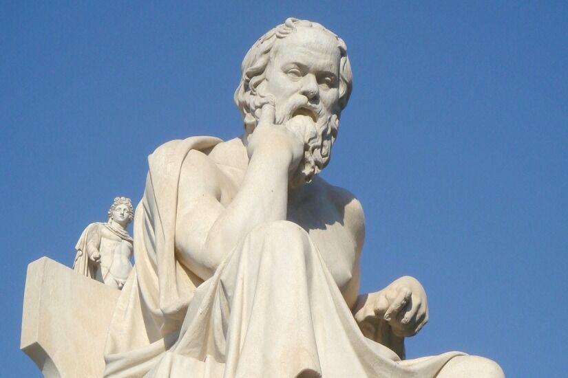 Античные философы о смысле жизни. Сократ.