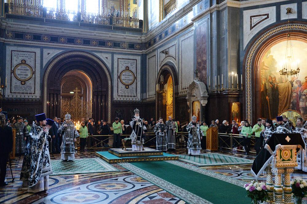 Слово Святейшего Патриарха Кирилла в среду первой седмицы Великого ...