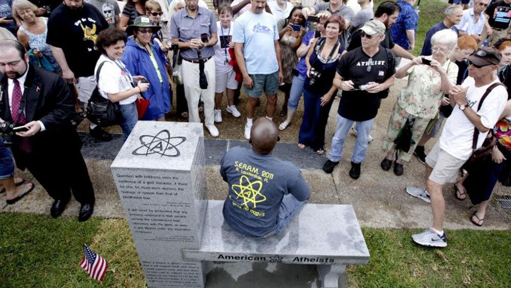 В США появился первый памятник атеизму // НТВ.Ru