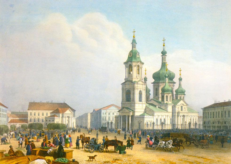 Сенная площадь | Прогулки по Санкт-Петербургу