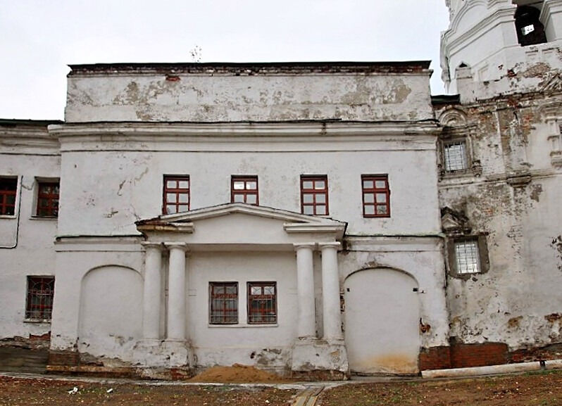 Нижний Новгород Благовещенский монастырь Корпус Церковь Андрея ...