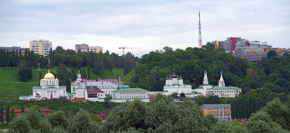 Благовещенский мужской монастырь   Нижегородская Митрополия