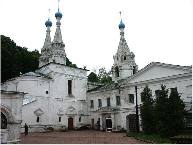 Нижний Новгород Благовещенский монастырь. Церковь Успения Пресвятой ...