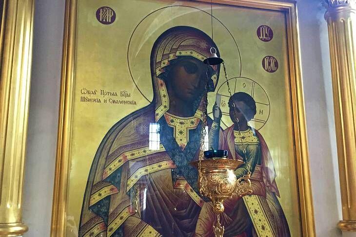 Смоленская икона Божией Матери, именуемая Одигитрия