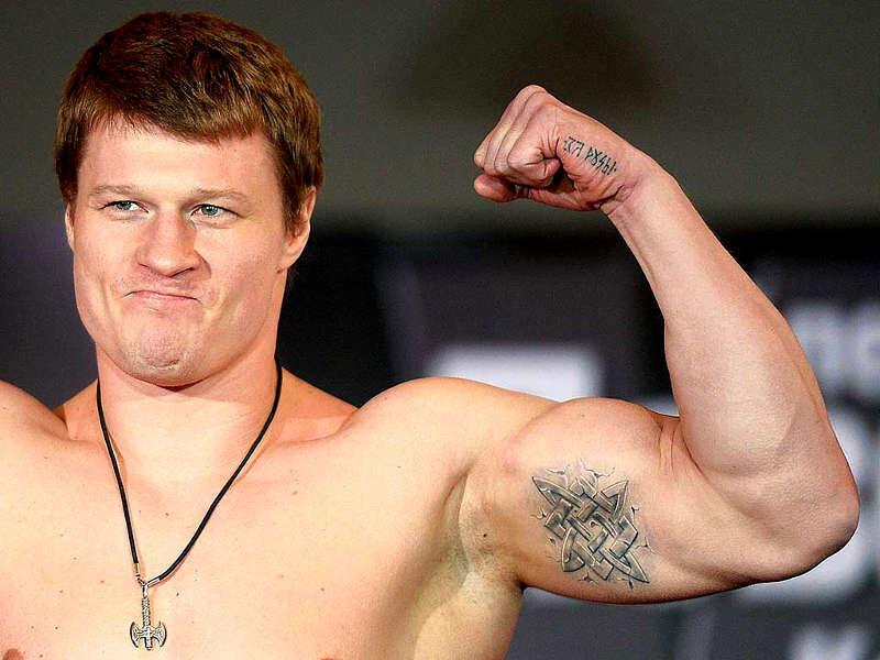 Тату Поветкина — славянский стиль с титулами WBO и WBA - Tattoo Today