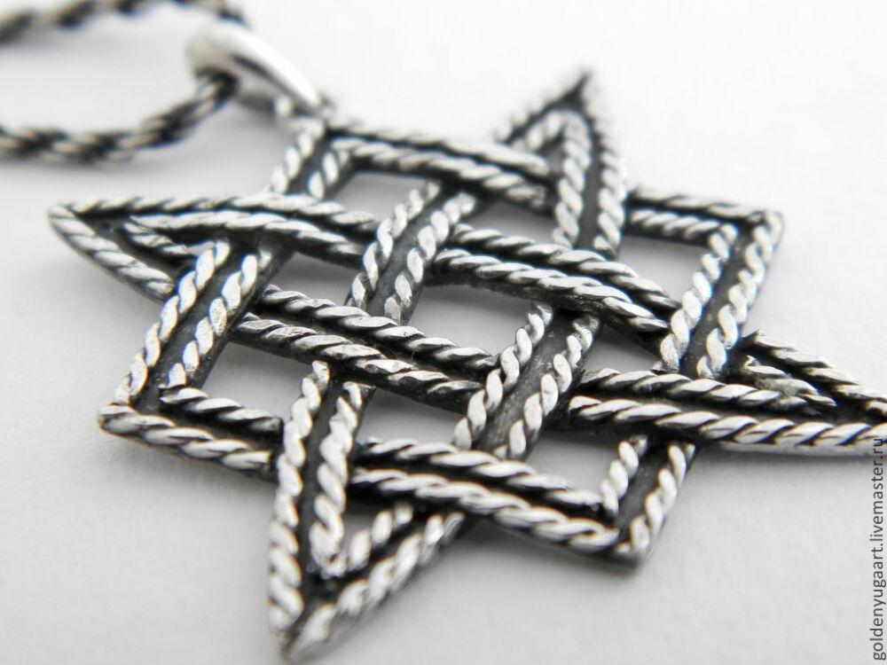Звезда Сварога, серебро 925 пробы – купить в интернет-магазине на ...