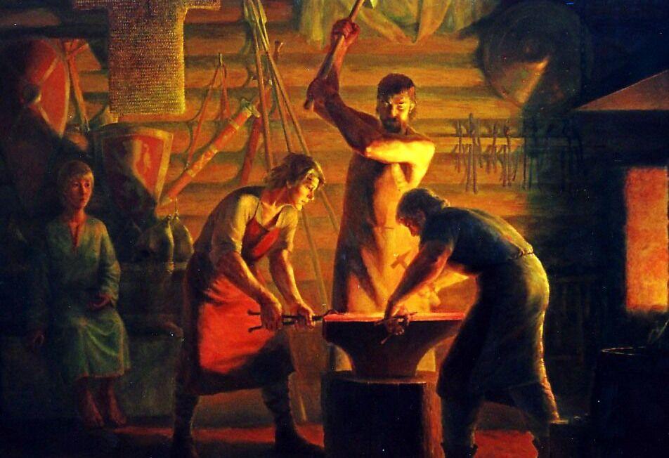 Мы кузнецы, и дух наш молод — Славянская культура