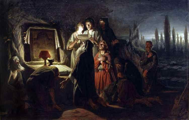 Первые христиане и мученики в русской живописи