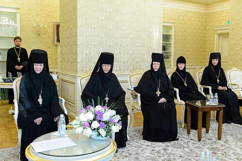 Настоятельница Успенского женского монастыря г. Александрова ...