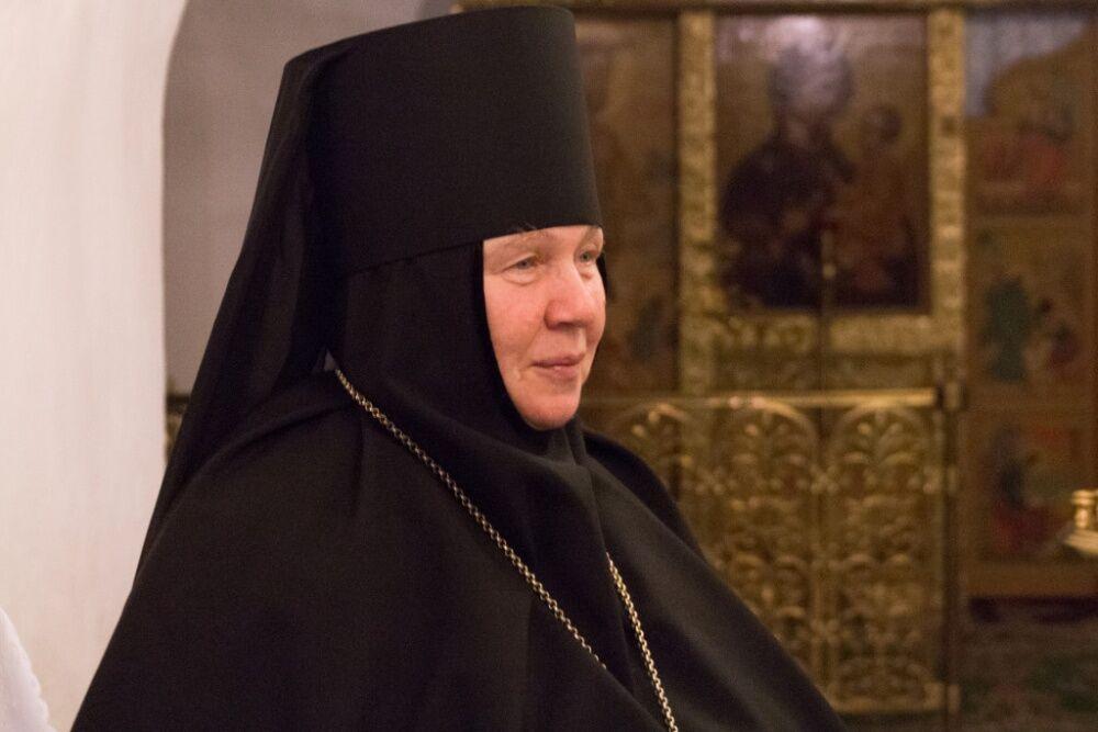 Игумения Антония — Николо-Вяжищский ставропигиальный монастырь