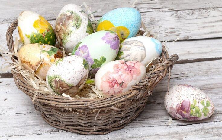 Мастер-класс: декор пасхальных яиц в технике декупаж