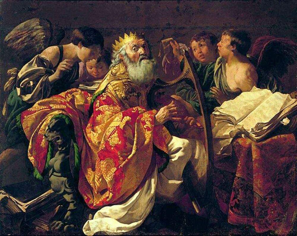 Царь Давид и вся кротость его - Церковь Успения Богородицы ...
