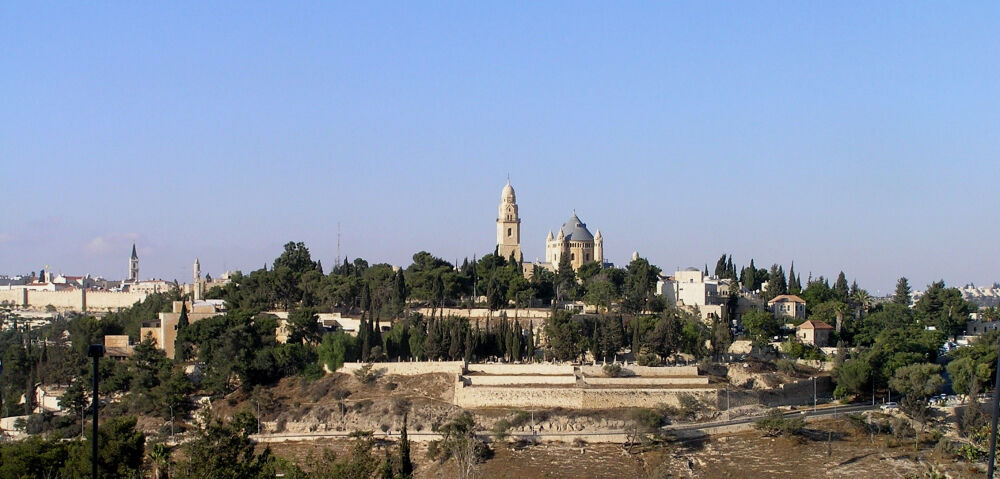 гора сион в иерусалиме