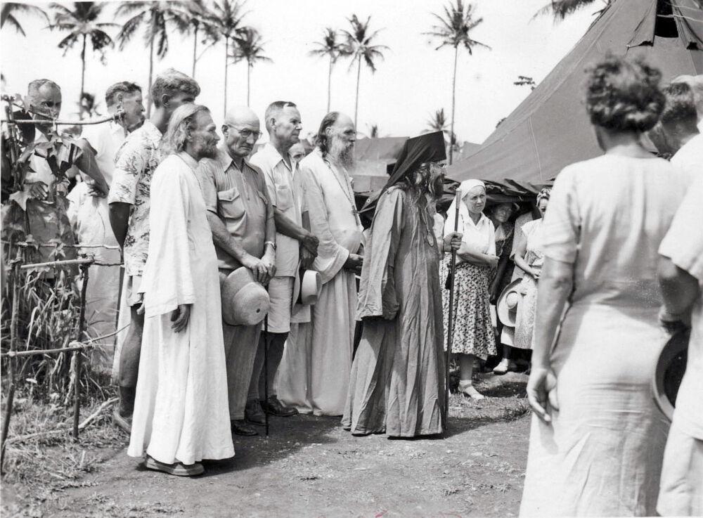 Иоанн Шанхайский и русские беженцы на острове Тубабао