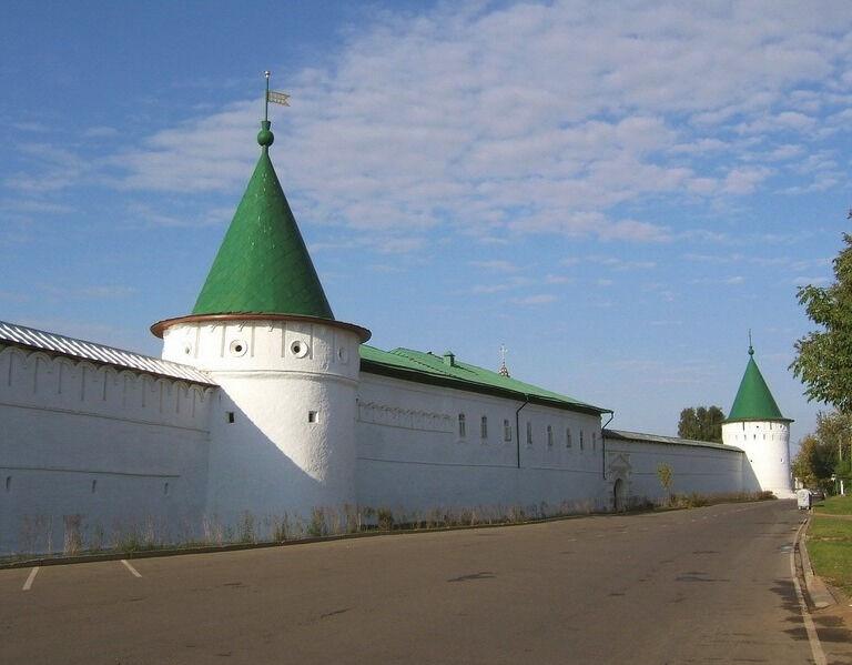 Кострома Троицкий Ипатьевский монастырь Старый город Новый город ...