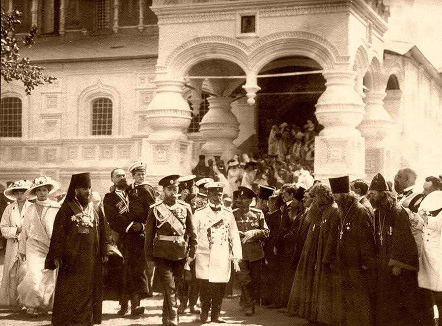 Приезд Императора Николая II в Кострому. 1913. Часть 2: humus