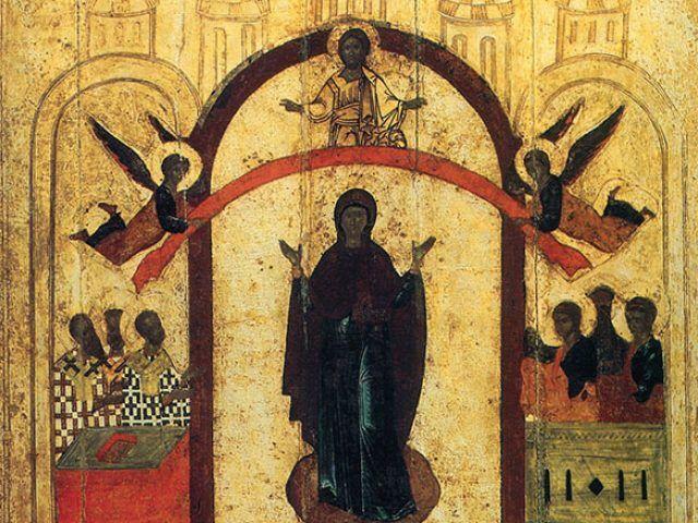 Проповедь на Покров Пресвятыя Владычицы нашея Богородицы и присно ...