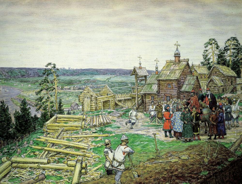 Древняя Москва XII - XV веков