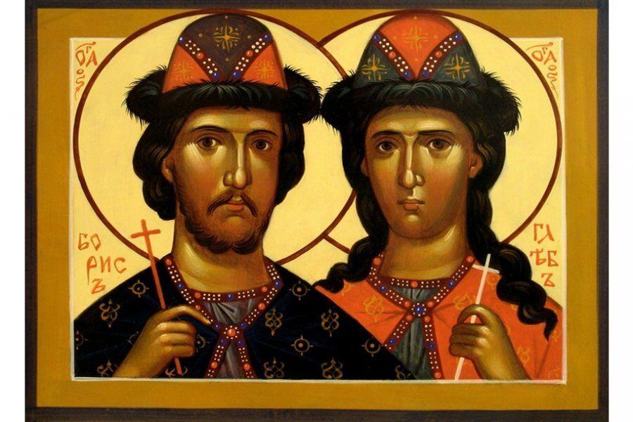 Соборное богослужение в день памяти Бориса и Глеба, престольный ...