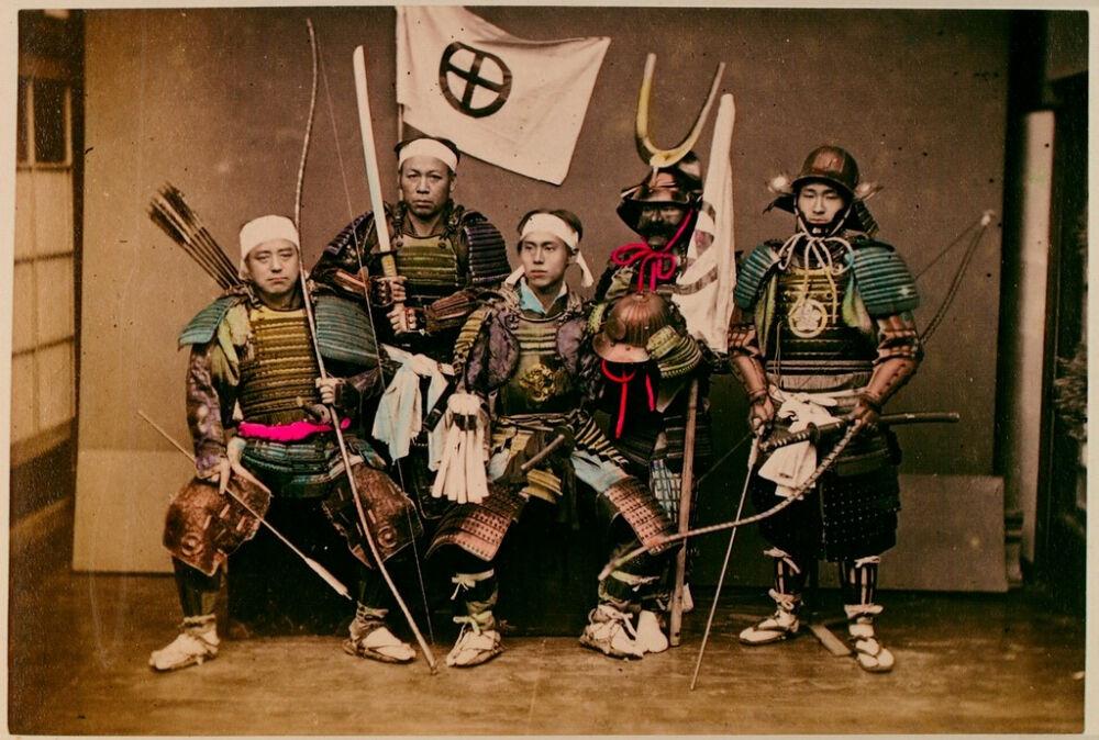 Самураи 19 века