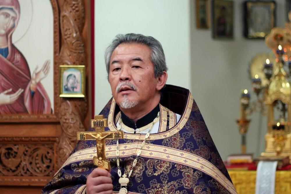Православный священник в Японии