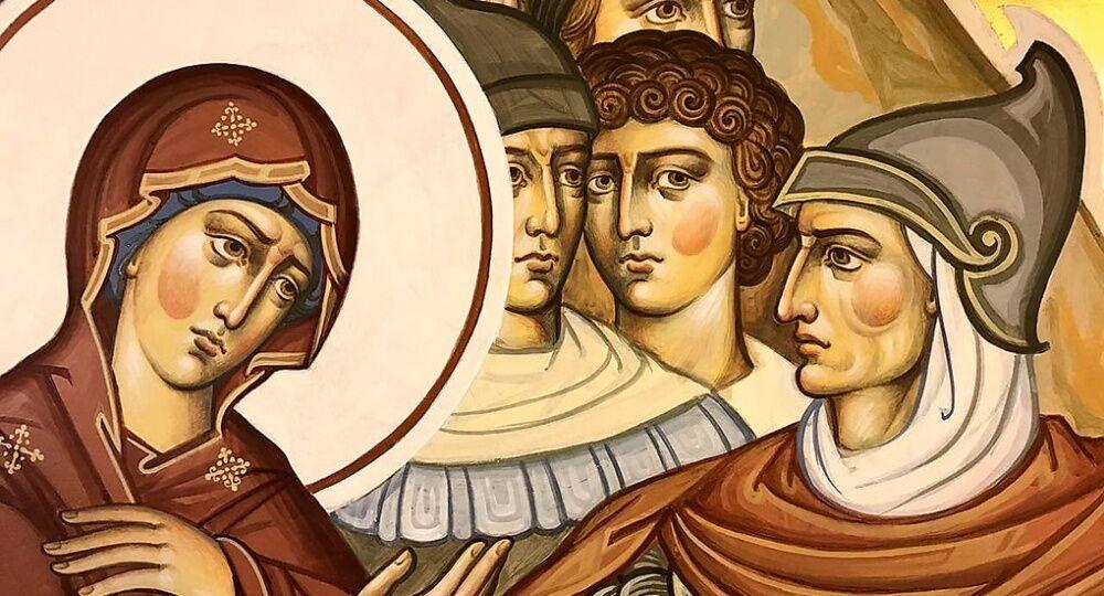Что означает цвет нимба на иконе святого? - Православный журнал Фома