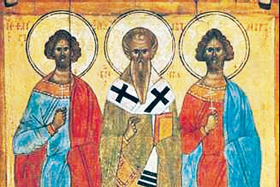 Нимбы святых - не выдумки