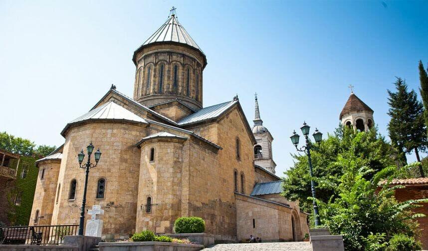 монастырь бодбе в грузии
