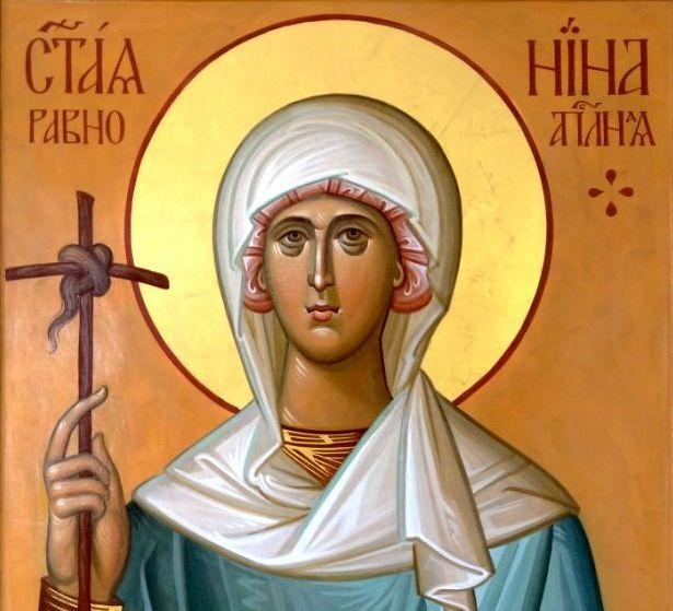 Святая равноапостольная Нина, или Виноградный крестик, спасший ...