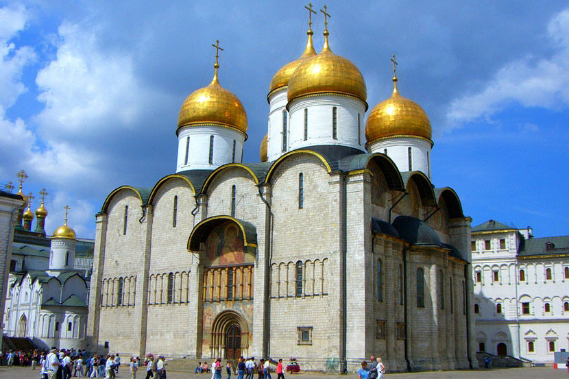 Успенский собор Московского Кремля: описание, фото