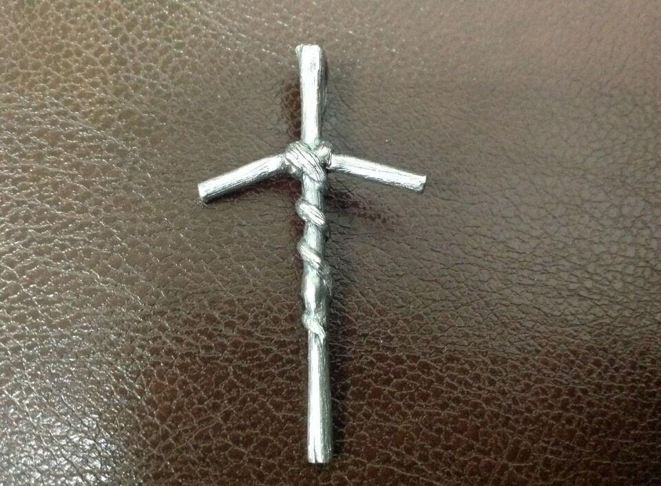 Крест Святой Нины нательный – купить в интернет-магазине на Ярмарке ...