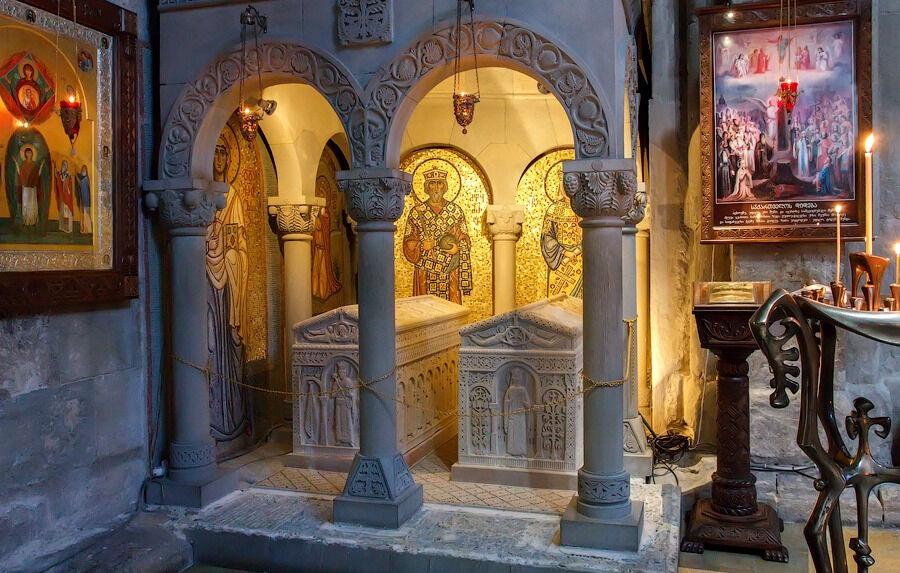 монастырь святой нино в грузии