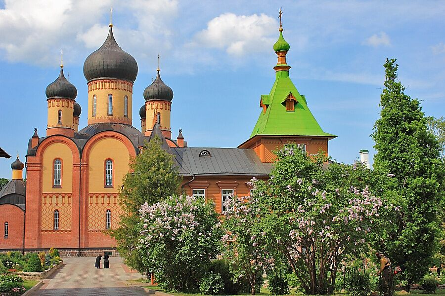 пюхтицкий монастырь