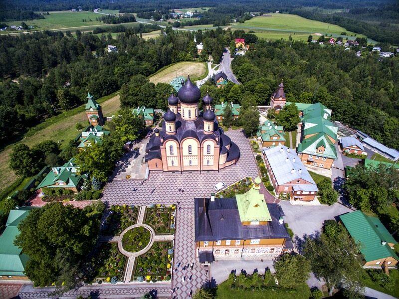 пюхтицкий монастырь в эстонии