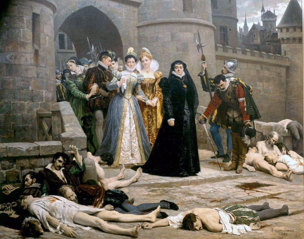 войны между католиками и гугенотами протестантами