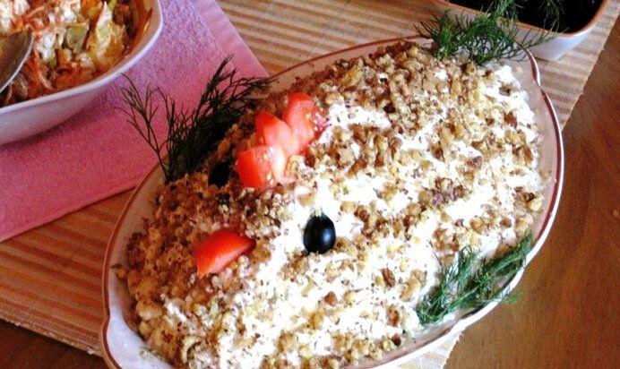 салат на пасху