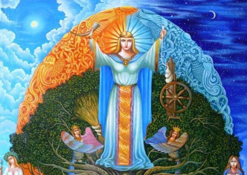 славянская мифология существа и боги (главный ключ)