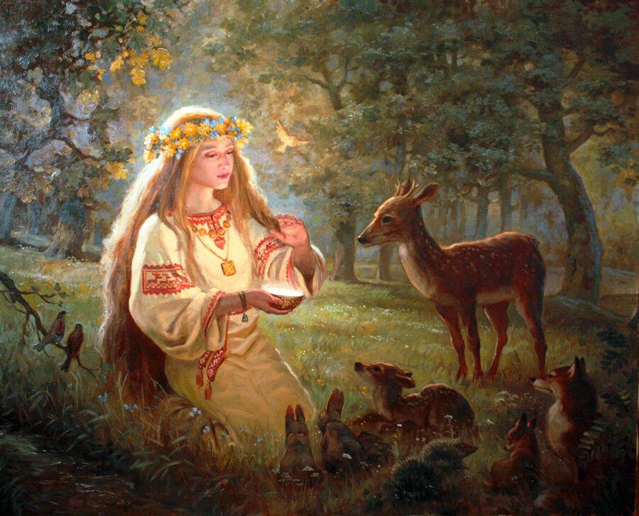 Ваше Величество Женщина… 22 сентября – Славянский Праздник Лады…