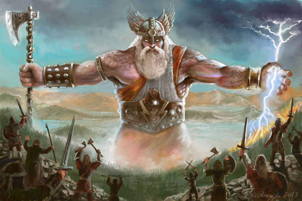 Perun, The Stormbringer : SMITEGODCONCEPTS