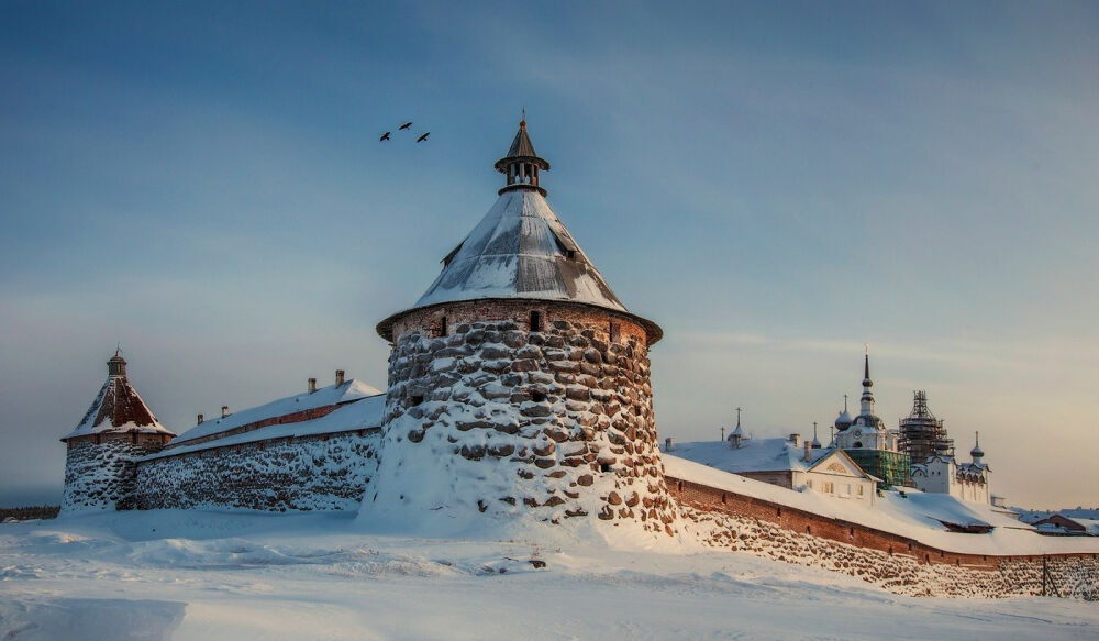 где находится соловецкий монастырь